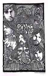Ben G. Hand Signed, Pink Floyd