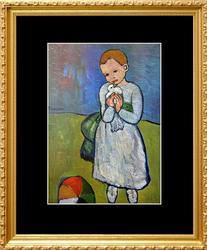 Pablo Picasso, Child Holding A Dove