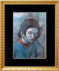 Pablo Picasso, Portrait Of Genevieve
