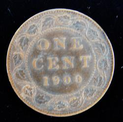 1900 Canada One Cent Coin