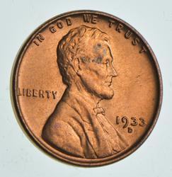 1933-D Lincoln Wheat Cent
