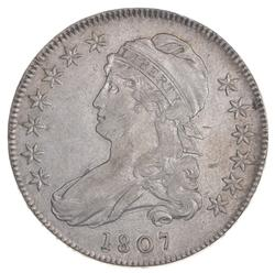 1807 Capped Bust Half Dollar - Large Stars - O-114