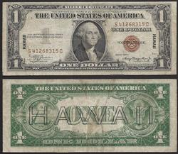 $1 1935-A Hawaii.WWII S-C Block