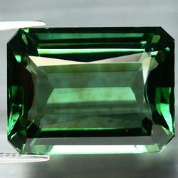 Pristine 36.34ct AAA created top green Amethyst