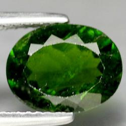 Untreated 2.36ct green Chrome Diopside
