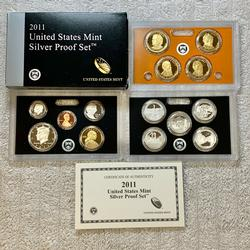 2011 US Silver Proof Set