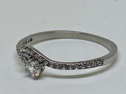 Stainless Steel Triple A Grade CZ Ring