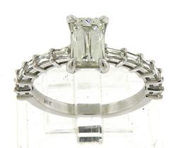 Masterpiece 1.11ct Tycoon Cut Diamond Ring