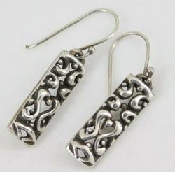 Sterling Silver Drop Dangle Earrings