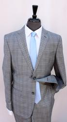 An Eye Catching Slim Fit Suit By Galante