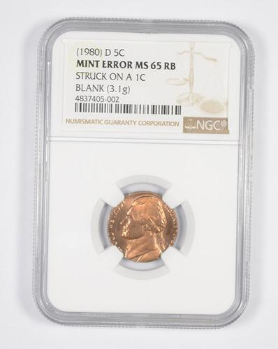 1976-D Jefferson Nickel 5c ~ PCGS MS65 ~ STUNNING!