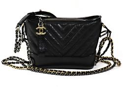 Authentic Chanel 2019 Gabrielle Small Hobo Cross Body