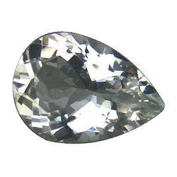 Blazing 4.48ct unheated diamond white Beryl