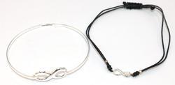 Set of Infinity Bracelets