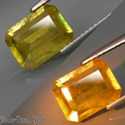 Gorgeous 2.44ct color shifting Russian Sphene