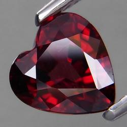 Collectors 1.81ct VS black cherry red Zircon