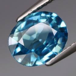 3.20ct high fire diamond luster London blue Zircon