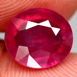 Stunning 5.81ct top imperial red Ruby center stone