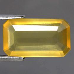 Unheated 1.40ct golden Fire Opal