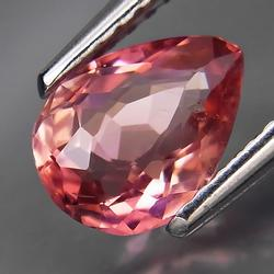 Phenomenal color in this 1.07ct natural Tourmaline