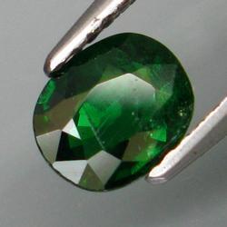 Top emerald green 1.01ct Tsavorite Garnet from Kenya
