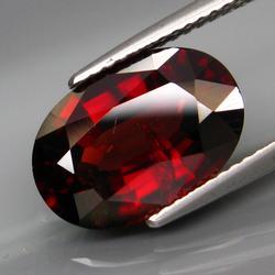Superb 7.43ct very rare red Tanzanian Zircon