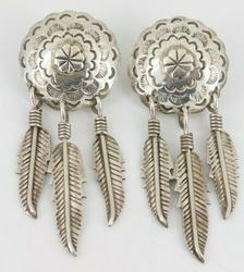 Southwestern Mexico Sterling Silver Earrings