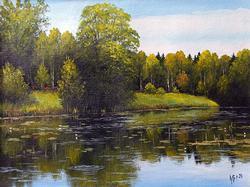 Spectacular Barashkov Maksim Original Oil On Canvas