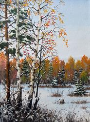 Spectacular Barashkov Maksim Original Oil On Canvas