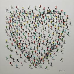 Populus Pop painting by Jose Ferrandiz