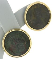 Ancient Bronze Coin Earrings