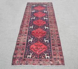 Semi Antique Persian Hamedan 4.4x12.5
