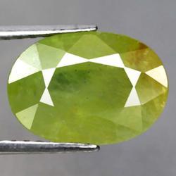 Vivid green 5.40ct Sphene from Madagascar