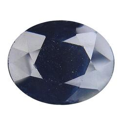 Deep blue heated only 3.74ct Sapphire