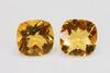 Snappy Citrine Pair - 7.04 cts.