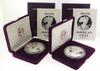 1989S &1990 S Proof Silver Eagles With Boxs And Papers