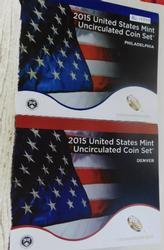 2015 Mint Uncirculated Set,  scarce date