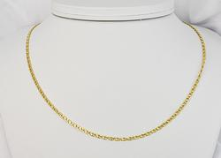 Stately 18K Chain Necklace
