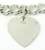 Vintage Sterling Bracelet with Heart Charm