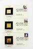 3 1980's Celebrate the Century 1st Day Issues/22K Stamps