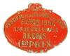 Vintage French Sheep Award Plaque