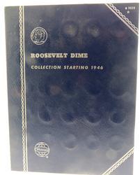 Complete Set Roosevelt Silver Dimes 1946-1964
