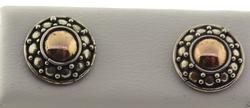 Vintage Sterling Silver Stud Earrings