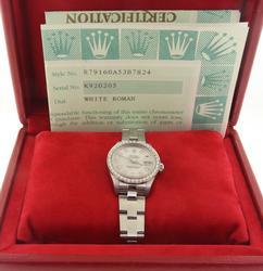 Rolex Datejust 26mm in Steel Oyster Bracelet Watch