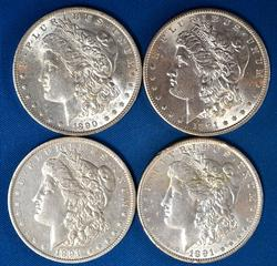 1890 O 1891 1891 0&S From A Near Full Set of Morgans