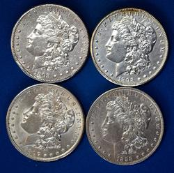 1897 S 1898 P O& S Morgan Dollars From A Near Complete Setom