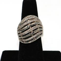 Designer Sterling Silver Band