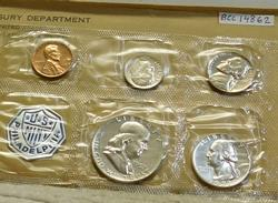 1957 Silver PROOF Set,  early date