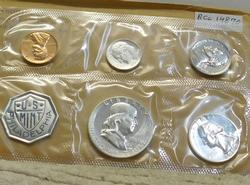 1960 Silver PROOF Set,  early date