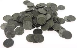 100 Higher Grade Steel Cents